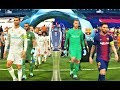 PES 2018 | Barcelona vs Real Madrid | Final UEFA Champions League | Gameplay PC