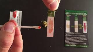 SwabTek - Testing for Cannabis Residue