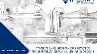 """Webinar """"Precios de transferencia en Colombia"""" - Alejandra Toledo"""