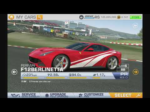 All 191 Cars Fully Upgraded Real Racing 3  RR3