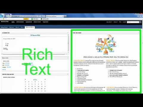 Asponte IBM WCM WebSphere Portal Widgets.mov