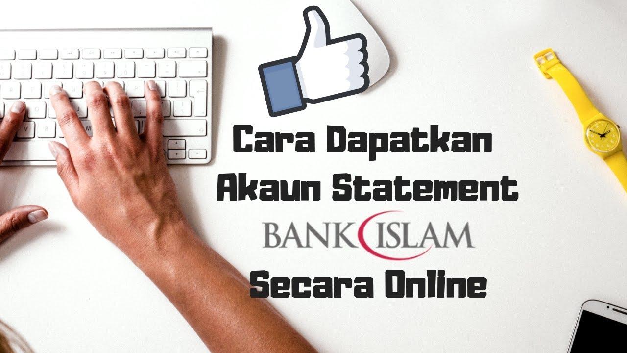 Cara Print Bank Statement Bank Islam Online Youtube
