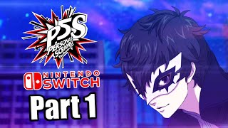 Persona 5 Scramble (2019) Switch Gameplay Walkthrough Part 1 (No Commentary)