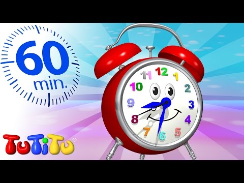 TuTiTu Specials | Clock | And Other Learning Toys | 1 HOUR Special