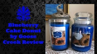 New Fall Blueberry Cake Donut Smooth & Hard Wax Review By Goose Creek