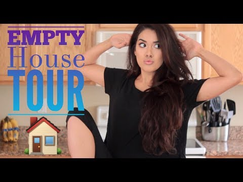 SEMI-EMPTY HOUSE TOUR | Nikki Glamour