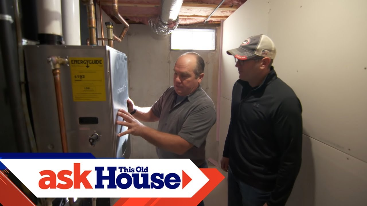 Electric Tankless Water Heater This Old House Not Lossing Wiring Diagram For Revisiting Our Hybrid Install Youtube Rh Com Installation Under Sink