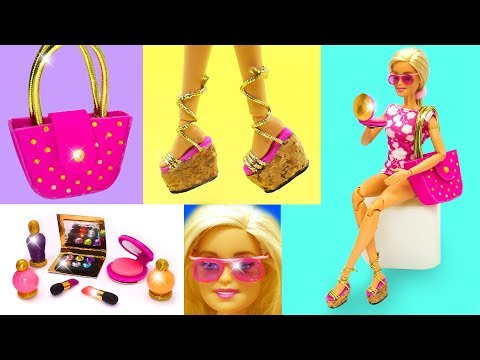 DIY Miniature for Barbie. DIY Barbie Hacks and Crafts