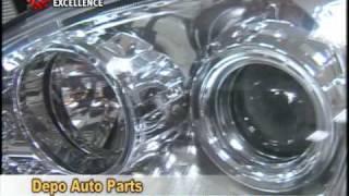54 Depo Auto Parts headlight shines globally