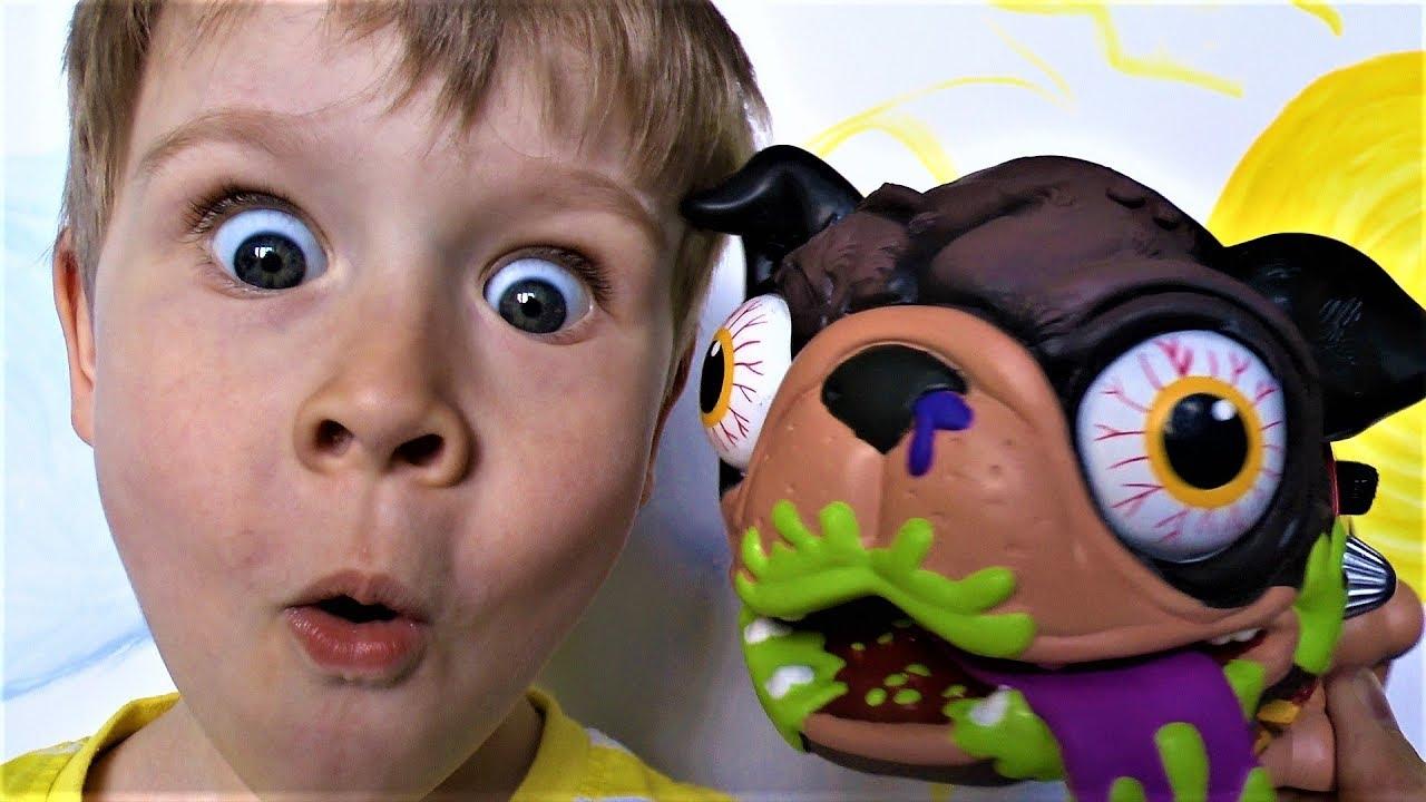 Макс и некультурная собака! Игрушки собаки видео для детей