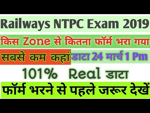 Rrb ntpc Total Fill up Form।। rrb ntpc total form apply।।rrb ntpc form best zone।। Rrb ntpc 2019