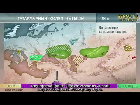 TATARLARIN ORTAYA ÇIKIŞI - (Tatarca Belgesel)