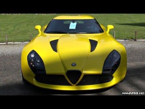 Alfa Romeo Zagato TZ3 V10 Loud Sound!