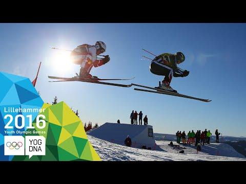Ski Cross - Talina Gantenbein (SUI) wins Ladies' gold | Lillehammer 2016 Youth Olympic Games