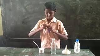 India Sudar - SEBLA Science Experiment