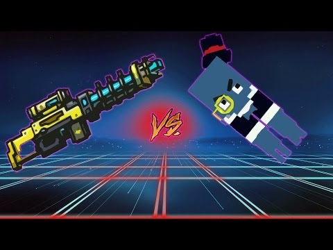 Pixel Gun 3D - Mr. Squido VS Electro Blast Rifle