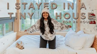 I Stayed In A Tiny House For 24 Hours | Getaway House Atlanta Escape