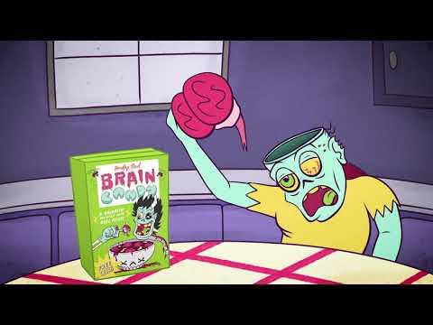 Hockey Dad Brain Candy Breakfast Cereal Box Youtube