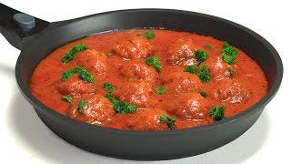 Аппетитные тефтели в томатном соусе. Рецепт от Всегда Вкусно!
