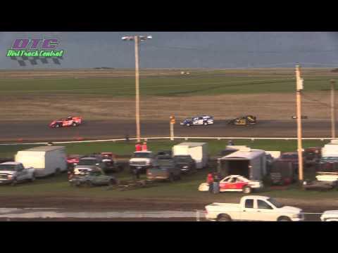 IMCA Sport Mod Heats Wakeeney Speedway 5-25-15