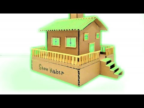 Wow! Amazing Coin Bank House from Cardboard