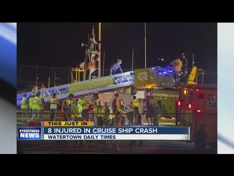 Cruise ship crash in St. Lawrence Seaway