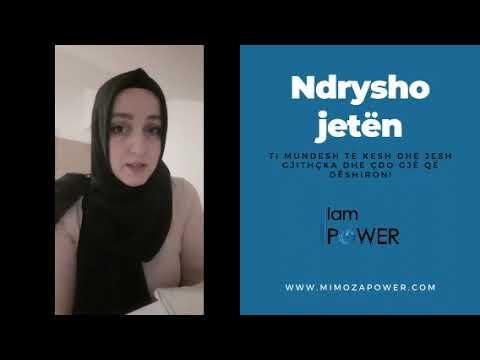 """Suheda Ibishi prezanton biznesin e saj. Histori Ndryshimi dhe Suksesi në """"I AM POWER"""""""