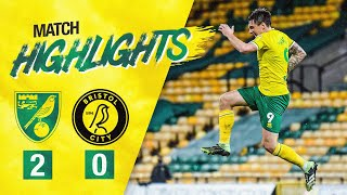 HIGHLIGHTS | Norwich City 2-0 Bristol City
