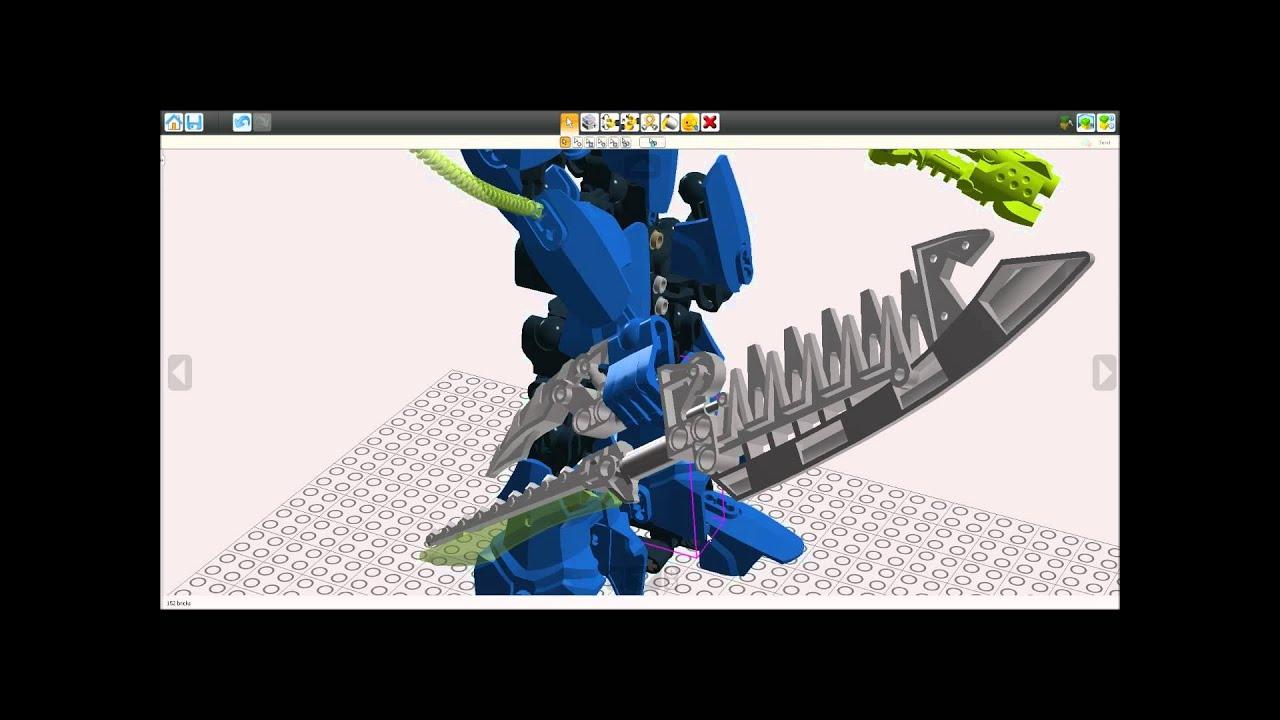 lego hero factory moc surge xl breakout youtube