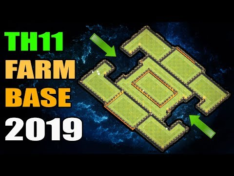 Best Th11 Farming Base 2020 BEST TH11 FARMING BASE 2019 with REPLAYS #2 | CLASH OF CLANS war