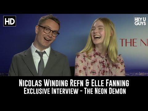 Nicolas Winding Refn & Elle Fanning Exclusive Interview - The Neon Demon