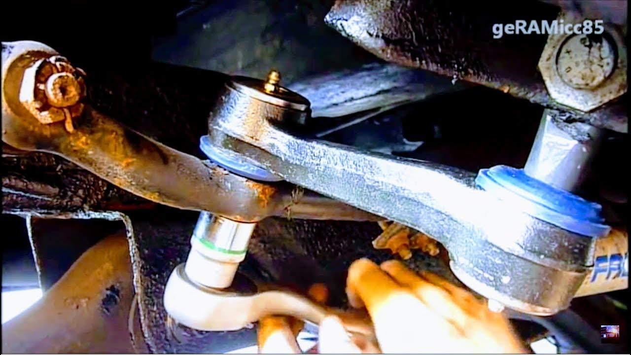 hight resolution of how to replace idler arm on dodge ram repair tips steering linkage change remove fix install pitman