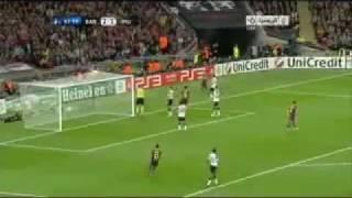 Villa Goal in Manchester united 2011 Thumbnail