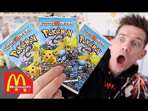 *RARE* McDonalds E Series 2002 Pokemon Booster Opening