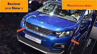 2019 Peugeot Rifter Allure BlueHDi 100 BVM5 Exterior and Interior Review In 2018#BestClassics Mobile