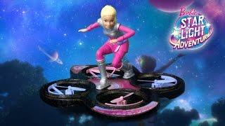Barbie — Лялька на ховерборде з м/ф Зоряні пригоди DLV45 в магазині PLANETTOYS