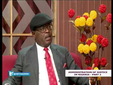 The National Industrial Court President Interview on NTA Part 1