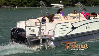 Pontoon Boats- 2013 Tahoe Cascade Quad Lounge [HD]