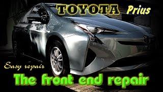 Toyota Prius. The easy repair of the body. Легкий ремонт кузова.