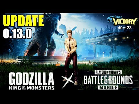 PUBG Mobile I UPDATE 0.13.0 BETA I GODZILLA Footprints? PUBG Mobile X Godzilla Movie Collab.