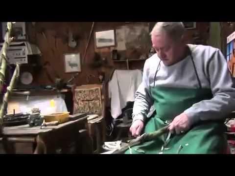 Wanderstcke Unikate aus Holz  Herstellung in Rotenburg  YouTube
