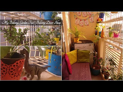 My Balcony Garden Tour | Balcony Decor Ideas | Balcony Organizing Ideas | Anshu's Passion
