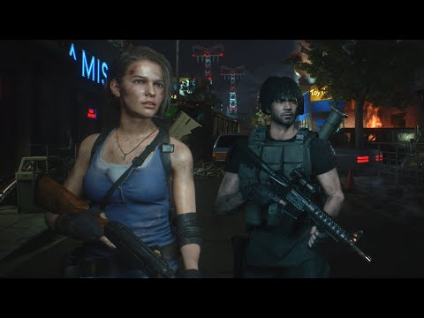 Resident Evil 3 Remake (2020) - All Weapons and Upgrades - Reloads , Animations and Sounds