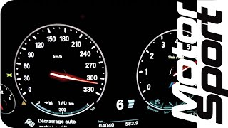 New BMW M5 (F10) 0-315 km/h (Motorsport)