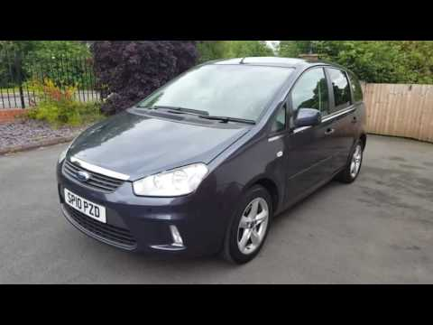 Ford C Max Zetec 1 6 Manual Petrol 5 Door Mpv In Metallic Sea Grey 495 Review Www Hi Auto Co Uk
