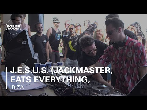 J.E.S.u.S. (Jackmaster, Eats Everything, Skream & Seth Troxler) Boiler Room Ibiza DJ Set