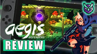 Aegis Defenders Nintendo Switch Review (Video Game Video Review)