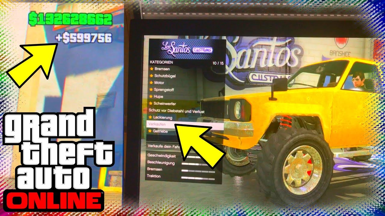 solo geld glitch autos f r 600k verkaufen gta 5 online7 ps4 xbox one pc youtube. Black Bedroom Furniture Sets. Home Design Ideas