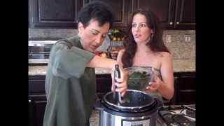 The Chef And The Dietitian - Episode 55 - Kale In A Pressure Cooker