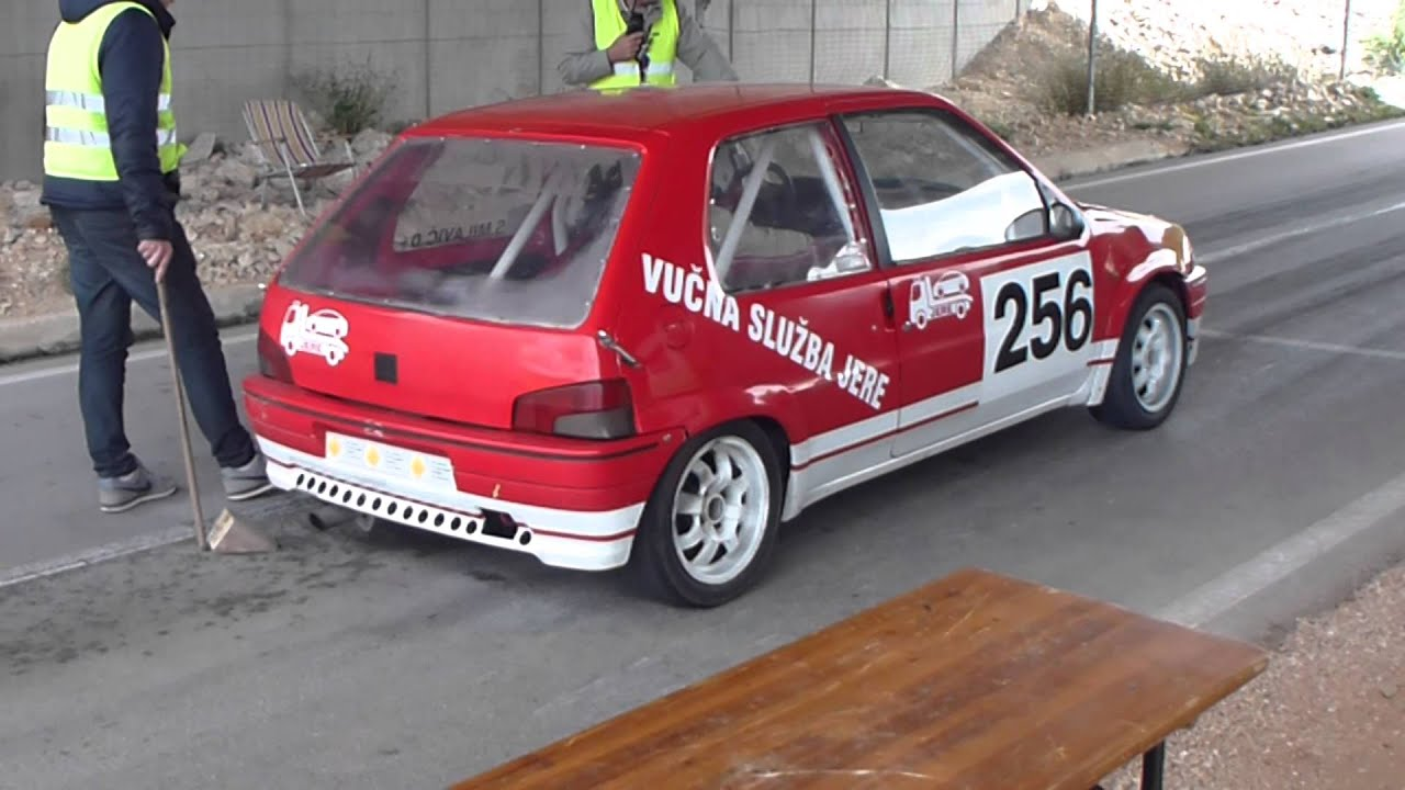 Peugeot 106 race car - YouTube